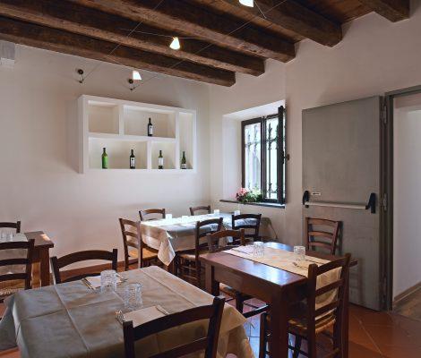 Locale Interno Ristorante Villa Nappi Polverigi
